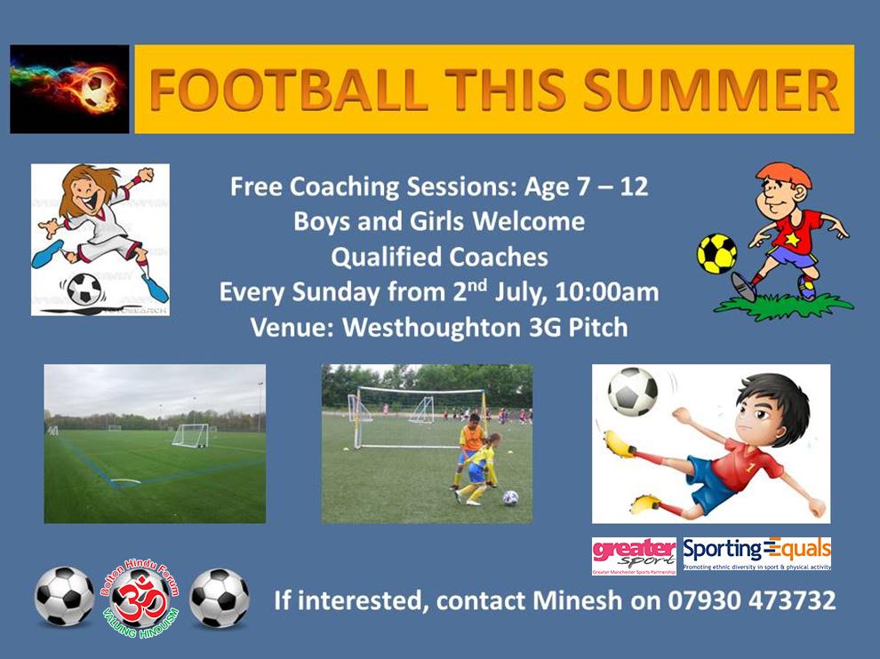 BHF - Football Coaching Poster